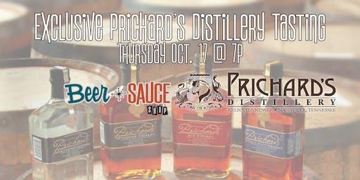 Exclusive Prichard's Distillery Tasting