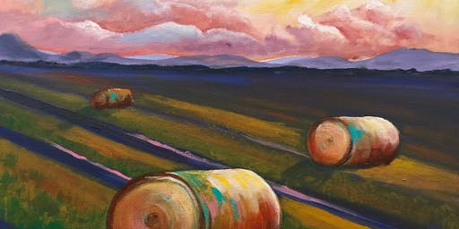 "Paint Night at the Coachman ""Hay Field"""