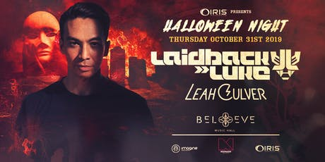 Laidback Luke + Leah Culver | IRIS's FAMOUS Annual HALLOWEEN Spooktacular | Thursday October 31 THE #1 Halloween event 7 years running!  tickets