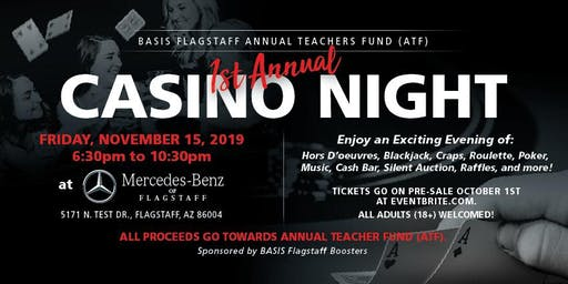 Casino Night - BASIS Annual Teachers Fund