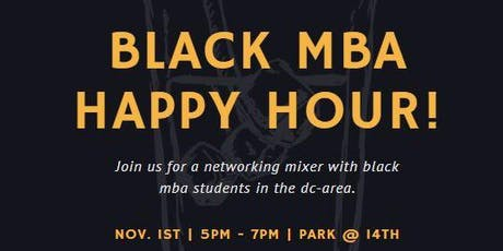 Black MBA Happy Hour! tickets