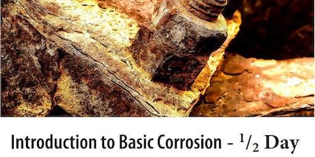 NACE BC Half Day Corrosion Course tickets