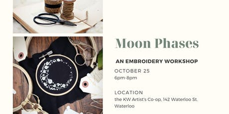 Moon Phases Embroidery Workshop tickets