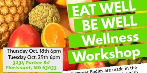 Eat Well and Be Well