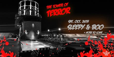 The Tower of Terror - Sleepy & Boo at the Water Tower - Halloween party tickets