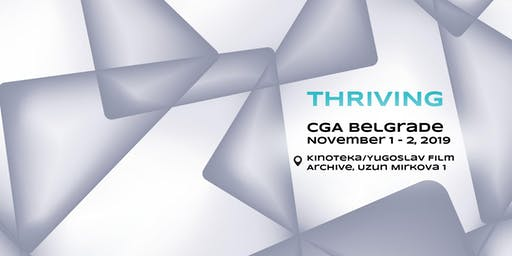CGA BELGRADE 2019 - COMPUTER GRAPHICS & ARTS CONFERENCE