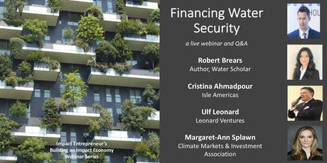 Financing Water Security tickets