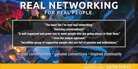 Real Networking: November tickets