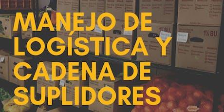 Manejo de Logística y Cadena de Suplidores (Agricultores y Agro-Negocios) tickets