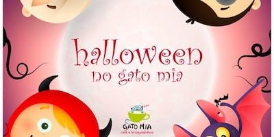 Halloween Gato Mia