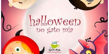Halloween Gato Mia ingressos