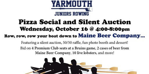 Pizza Social and Silent Auction for Yarmouth Juniors Rowing