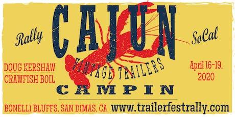 Trailerfest Cajun Campin Vintage Trailer Rally tickets