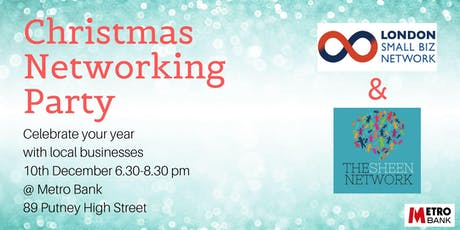 Christmas Networking Party with London Small Biz Network & The Sheen Network tickets