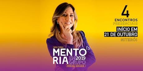 Mentoria presencial Mídias Sociais para Negócios - com Paula Tebett ingressos