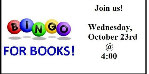 Bingo for Books at the Library