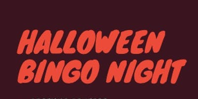 Halloween Bingo Night