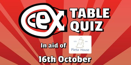 Table Quiz in aid of Pieta House tickets