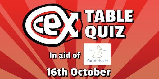 Table Quiz in aid of Pieta House