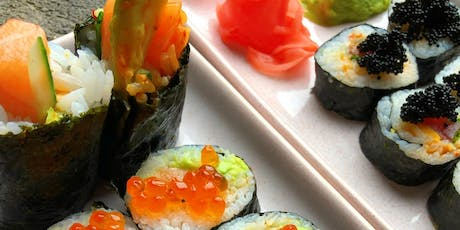 Learn to Roll Sushi tickets