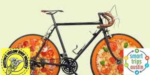 Smart Trips Austin l Bike maintenance pizza party with YBP