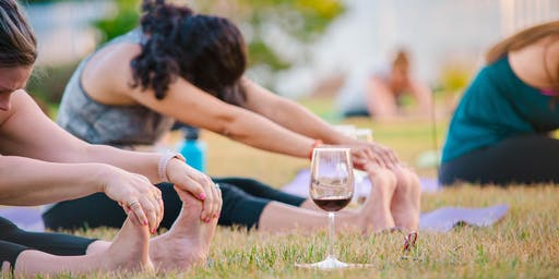 Sunset Yoga at Munger Winery