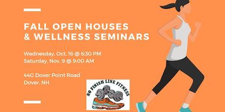 NFLF October Open House & Wellness Seminar tickets