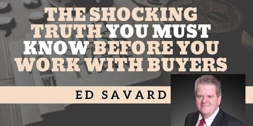 The Shocking Truth You Must Know Before You Work With Buyers