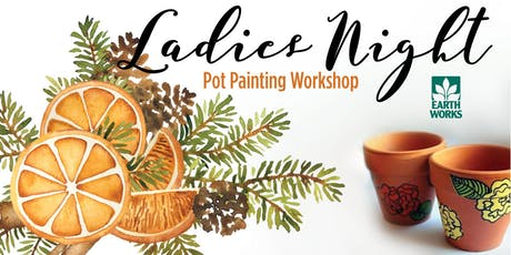 Ladies Night: Pot Painting Workshop tickets