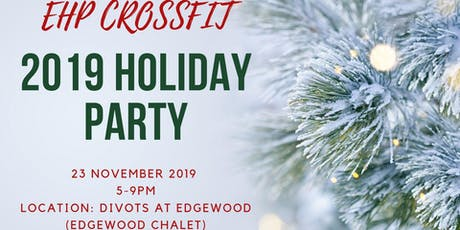 Ugly Holiday Sweater End of Year Banquet tickets