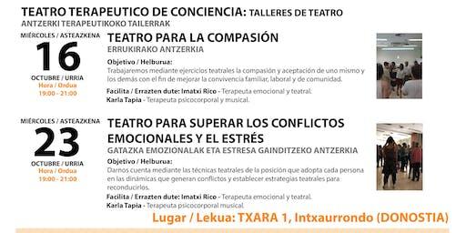 TEATRO DE CONCIENCIA TERAPÉUTICO (TALLER DE DOS DÍAS)