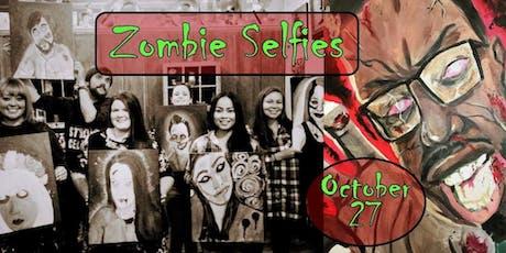 Zombie Selfies Paint Class! tickets