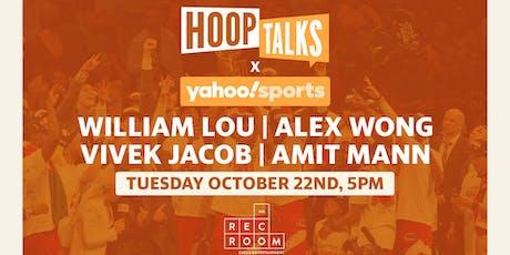Hoop Talks Watch Party with Yahoo! Sports: Raptors season opener tickets