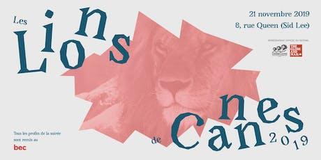 Projection des Lions de Cannes  2019 billets