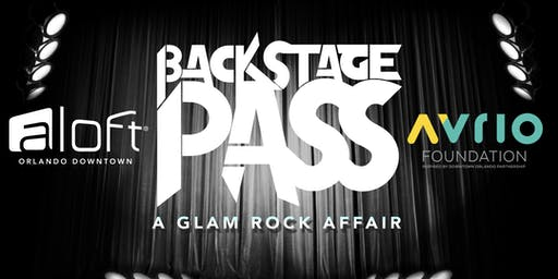 Backstage Pass - A Glam Rock Affair | Benefiting the onePULSE Foundation