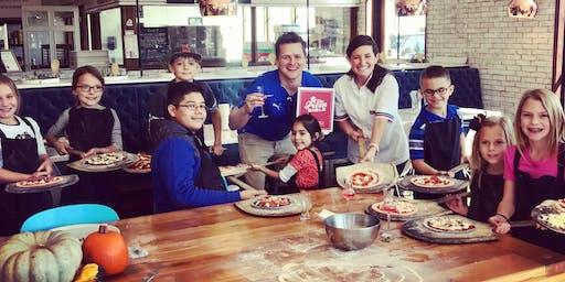 Kids' Halloween Pizza Class