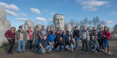 Private Presidents Heads Walking Tour - Rick Stockel Client Appreciation Event