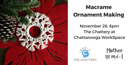 Macrame Ornament Making tickets