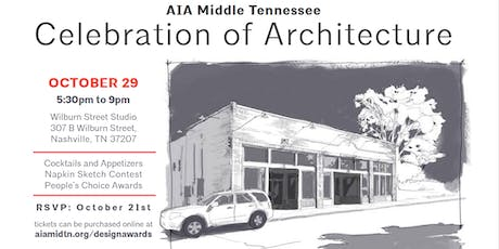 AIA MidTN 2019 Celebration of Architecture tickets
