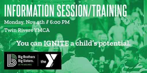 Information Session & Mentor Training - Twin Rivers YMCA