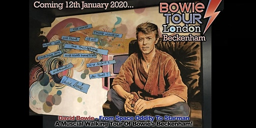 David Bowie - From Space Oddity To Starman: Bowie's Beckenham Tour!