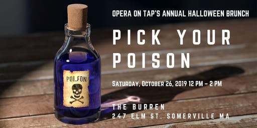 Pick your poison: Opera on Tap's Annual Halloween Brunch