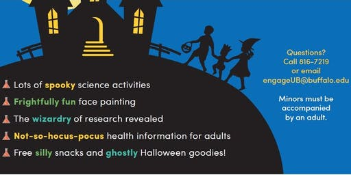 Tricks, Treats and Science Discoveries: Free Family Fun and Learning Fair
