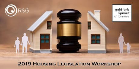 2019 Housing Legislation Workshop tickets