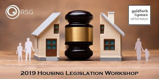 2019 Housing Legislation Workshop