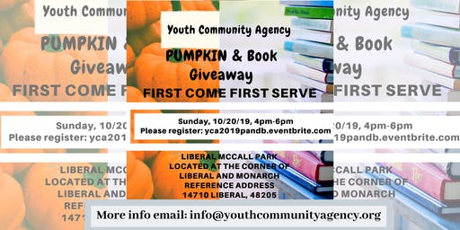 Youth Community Agency Pumpkin & Book Giveaway!