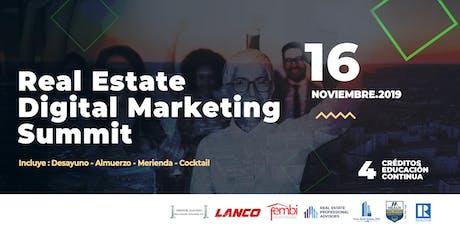Real Estate Digital Marketing Summit tickets