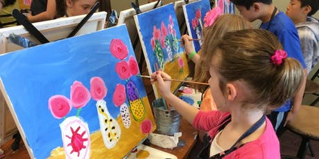 Fun painting class for kids - Ages 8 to 12   tickets