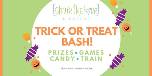 Kidsclub Trick or Treat Bash