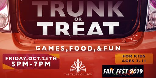 Fall Fest 2019: Trunk or Treat